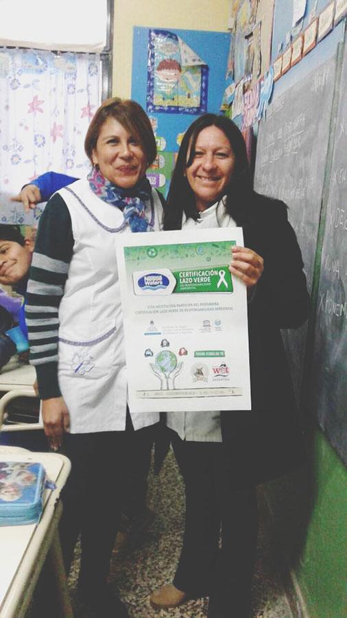 Certificación Lazo Verde - Asociación de Amigos de la Patagonia
